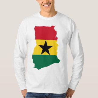 Ghana Flag Map GH Tshirt