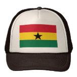 Ghana Flag Mesh Hat