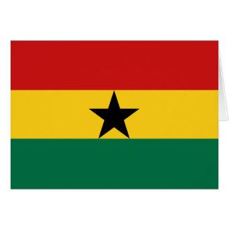 Ghana Flag Notecard