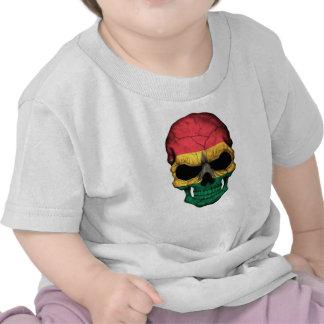 Ghana Flag Skull Shirt