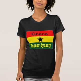 Ghana flag soccer dynasty tee shirts