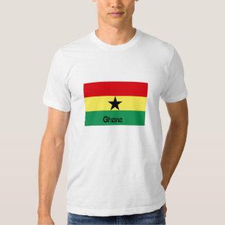 Ghana flag souvenir tshirt