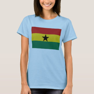 Ghana Flag x Map T-Shirt