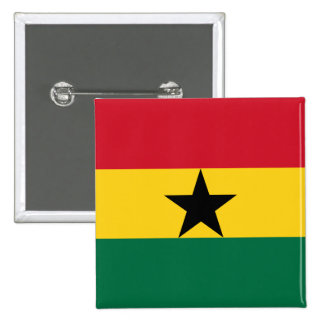Ghana, Ghana Pinback Button
