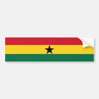 Ghana/Ghanaian Flag Bumper Sticker