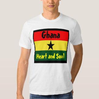 ghana-heart and soul t-shirts
