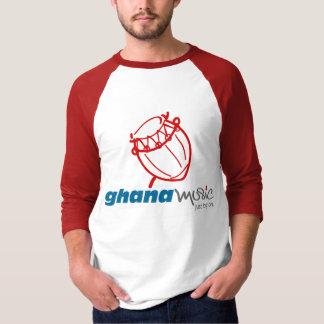 Ghana Music.com Basic 3/4 Sleeve Raglan T-Shirt
