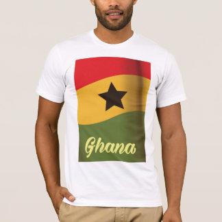 Ghana National Flag vintage style travel poster T-Shirt