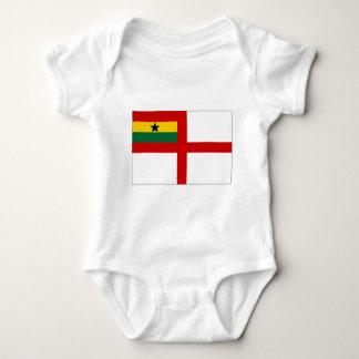 Ghana Naval Ensign Baby Bodysuit