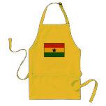 Ghana Plain Flag Apron
