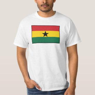 Ghana Plain Flag Tee Shirt