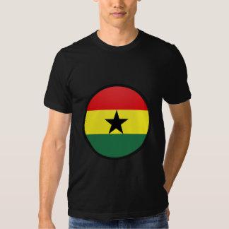 Ghana quality Flag Circle Shirts