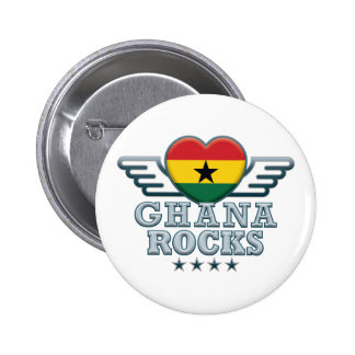 Ghana Rocks v2 Pin