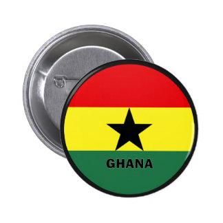 Ghana Roundel quality Flag Pin