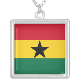 GHANA SILVER PLATED NECKLACE