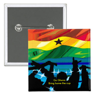 Ghana soccer buttons