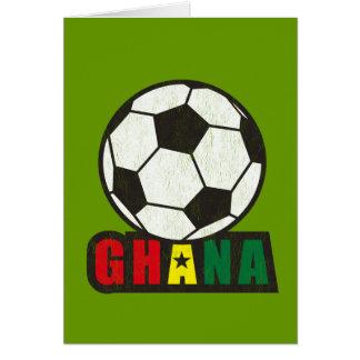 Ghana Soccer Card
