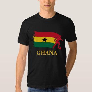 Ghana  Soccer Flag Tees