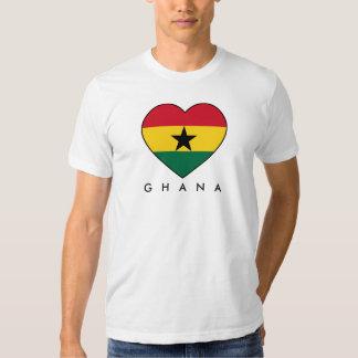 Ghana Soccer Heart T-shirt