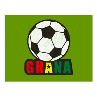 Ghana Soccer Postcard