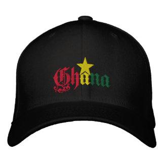 Ghana Star flag of Ghana Ghanian cap Embroidered Baseball Caps