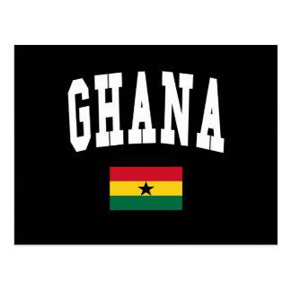 Ghana Style Postcard
