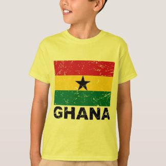 Ghana Vintage Flag T-Shirt