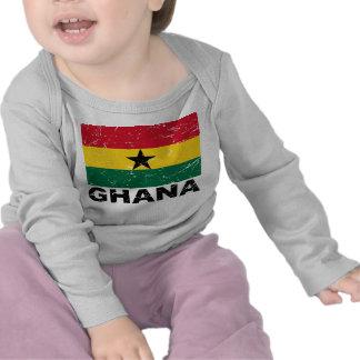 Ghana Vintage Flag T-shirts