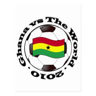 Ghana vs The World Postcard