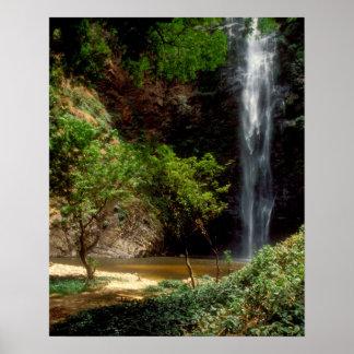 Ghana: Wli Falls, a.k.a. Agumatsa Falls (Volta Poster