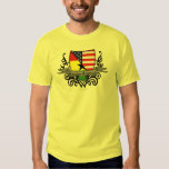 Ghanaian-American Shield Flag Shirt