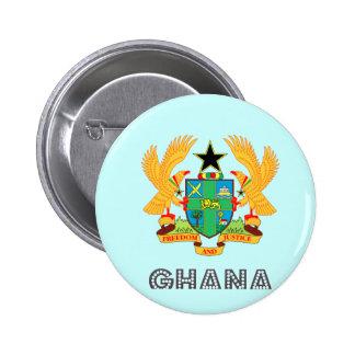 Ghanaian Emblem Buttons
