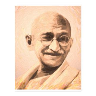 Ghandi Motivation Postcard