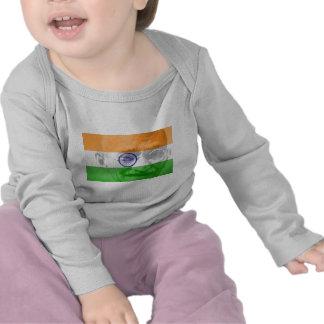 Ghandi on Indian Flag T-shirt