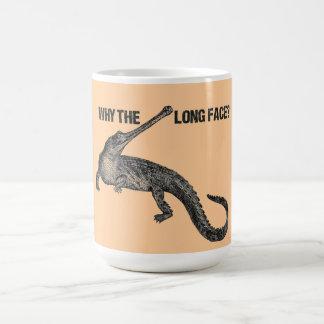 Gharial Humor Coffee Mugs