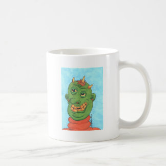 Ghastly Ghoul Basic White Mug