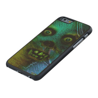 Ghastly Ghoul Carved® Maple iPhone 6 Case