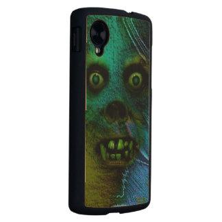 Ghastly Ghoul Carved® Maple Nexus 5 Slim Case