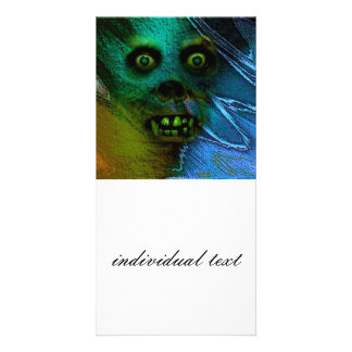 Ghastly Ghoul Photo Greeting Card