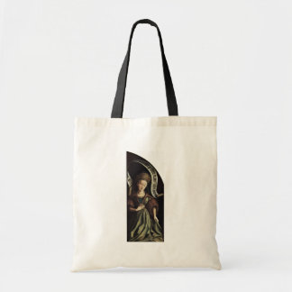 Ghent Altar Altar Of The Mystical Lamb Right Outsi Canvas Bag