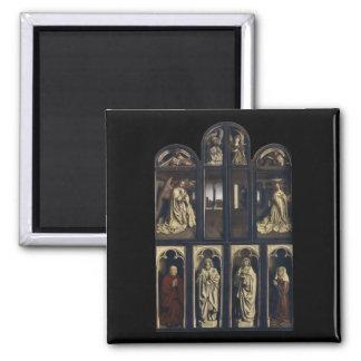 Ghent Altarpiece, Hubert & Jan van Eyck Magnets