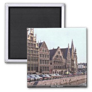 Ghent, Belgium Magnet