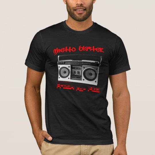 Ghetto Blaster 1983 Fitted Shirt