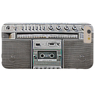 GHETTO BLASTER BARELY THERE iPhone 6 PLUS CASE