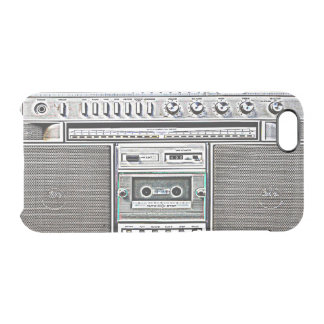 GHETTO BLASTER CLEAR iPhone 6/6S CASE