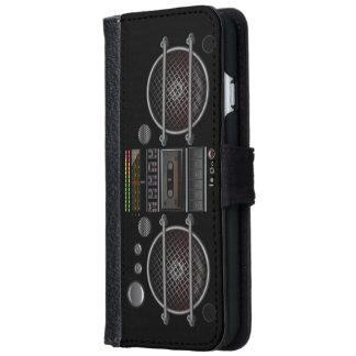 Ghetto Blaster iPhone 6 Wallet Case
