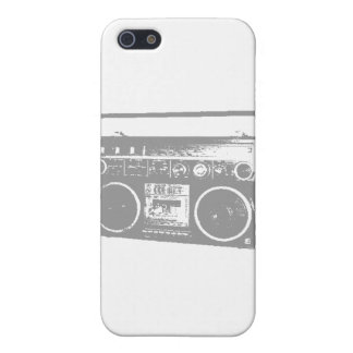 Ghetto Blaster iPhone 5 Covers