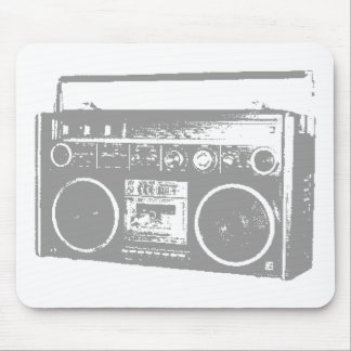 Ghetto Blaster Mouse Mat