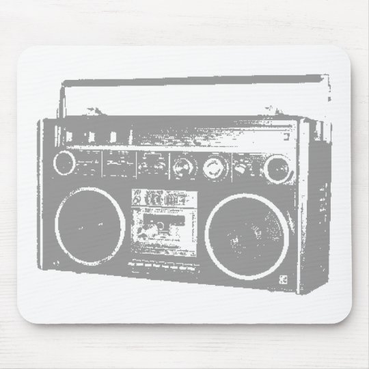 Ghetto Blaster Mouse Pad