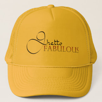 Ghetto Fabulous Gold Hat